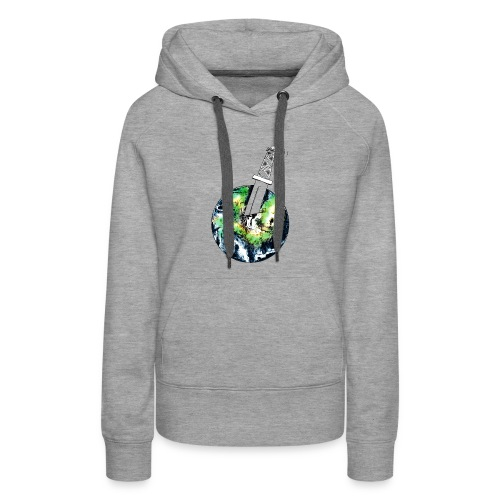 Oil Killer - Save planet - Women's Premium Hoodie