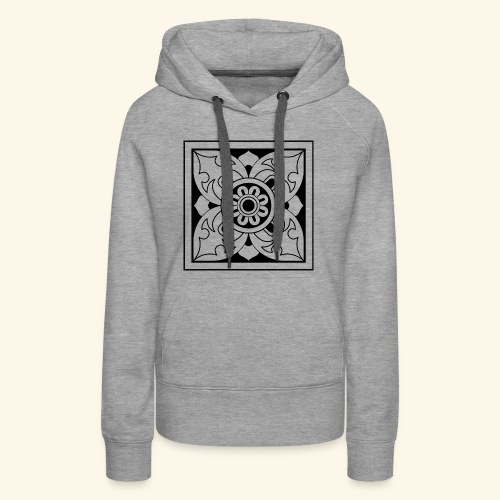 ceylon collection front 1 - Women's Premium Hoodie