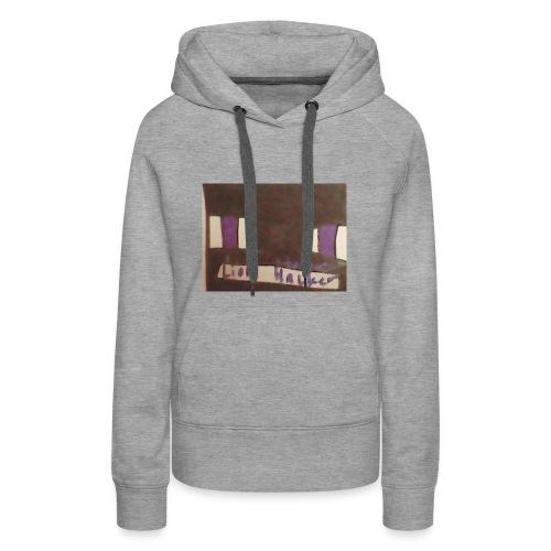 Lion haker t-shirt - Women's Premium Hoodie