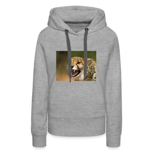 cheetah big cat - Women's Premium Hoodie