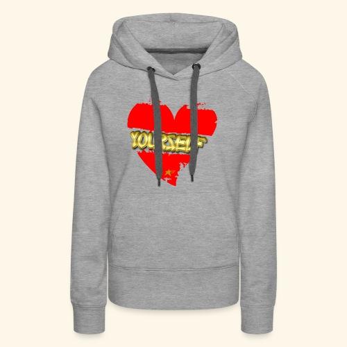 Love Yourself T-shirt - Women's Premium Hoodie