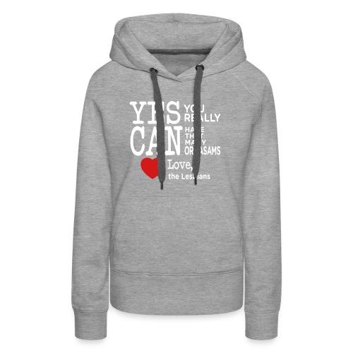 Love Lesbian T-Shirt - Women's Premium Hoodie