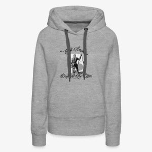 Just Another Day At the Office Ironworker - Women's Premium Hoodie
