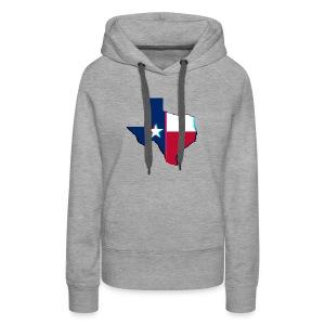 3D Texas - Women's Premium Hoodie