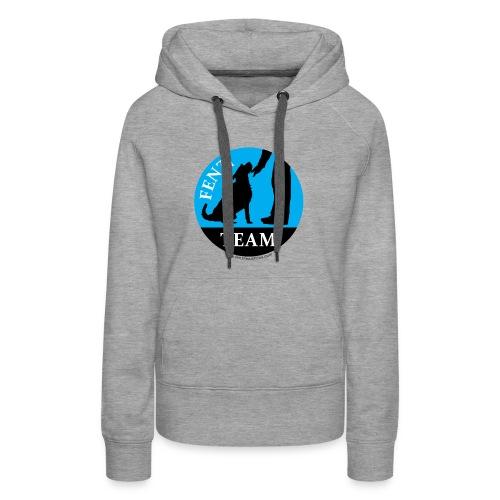 FENZITEAM Logo W - NOT FOR BLACK - Women's Premium Hoodie