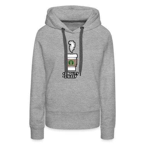 Pixel Coffee - Women's Premium Hoodie