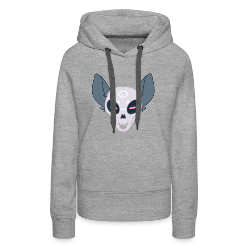 Haunted Kitter - Women's Premium Hoodie