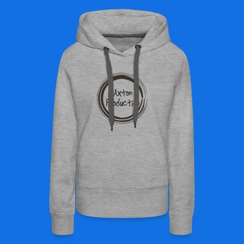 AxtonProduction Official logo design - Women's Premium Hoodie
