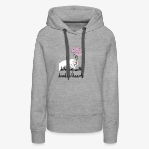 bitches broken hearts - Women's Premium Hoodie