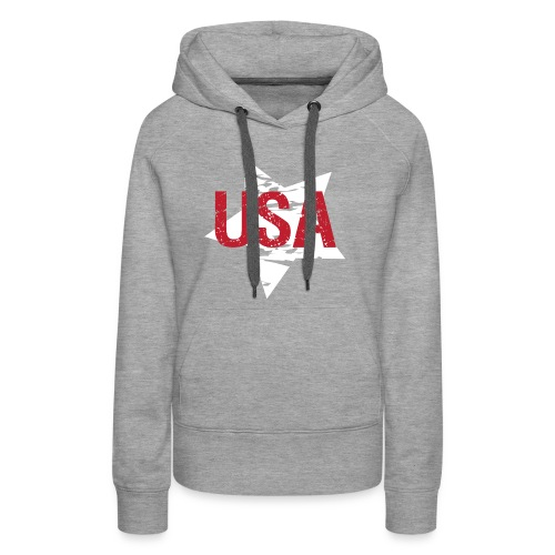 USA! - A stylish 4th July collection - Women's Premium Hoodie