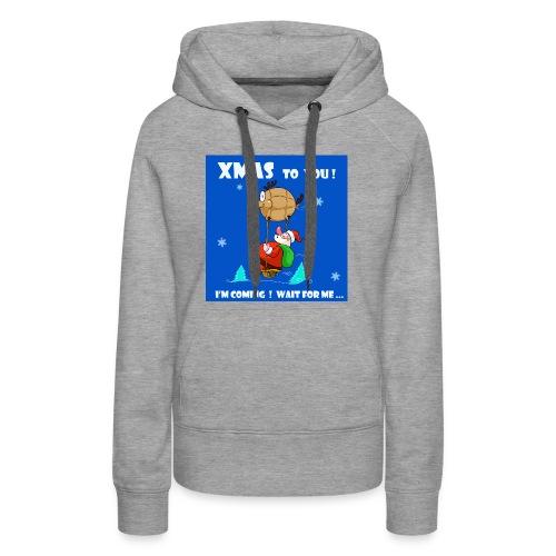 xmas funny tee shirt - Women's Premium Hoodie