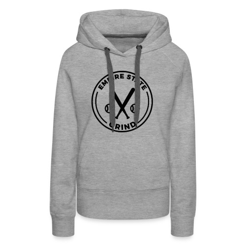 Empire State Grind (Black) - Women's Premium Hoodie