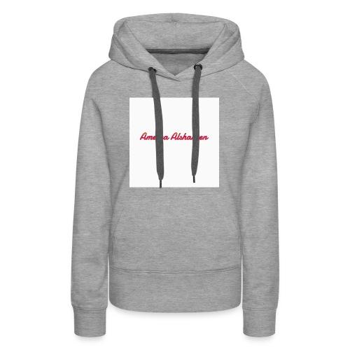 Ameera alshaheen merch - Women's Premium Hoodie