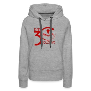30 Day Collective Logo, Red - Women's Premium Hoodie