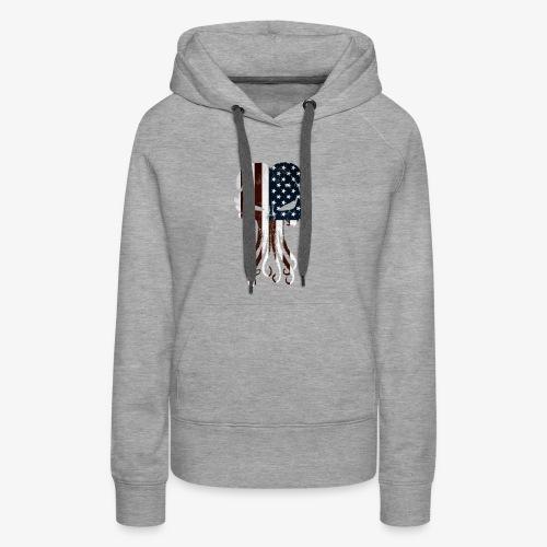 Cthulhu America Full - Women's Premium Hoodie