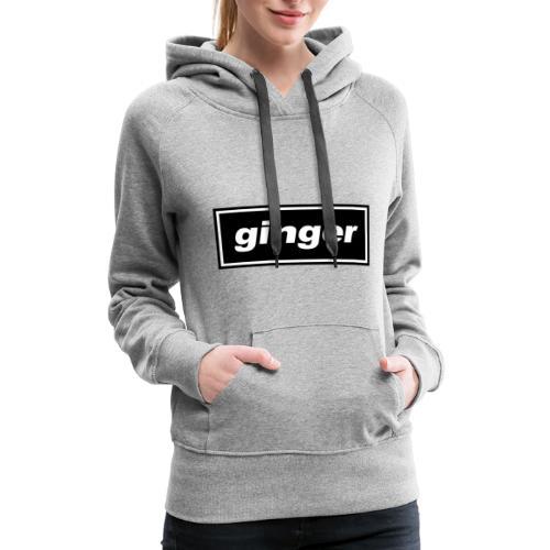 Ginger Indie logo - Women's Premium Hoodie