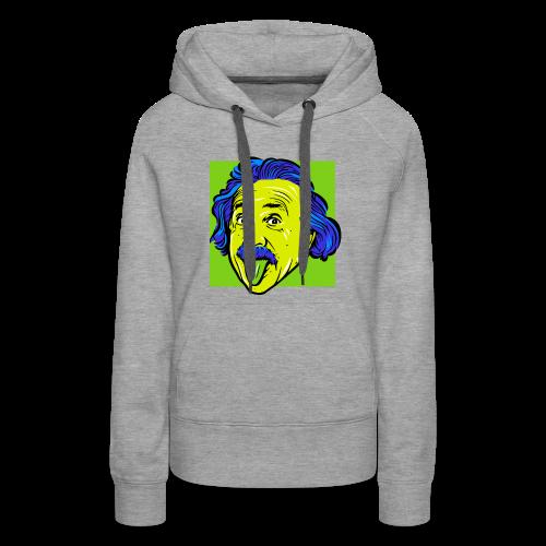Crazy Einstein - Women's Premium Hoodie