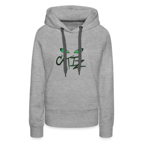 CatIz logo - Women's Premium Hoodie