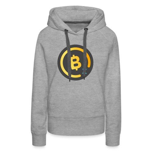 BitcoinZ Logo - Women's Premium Hoodie