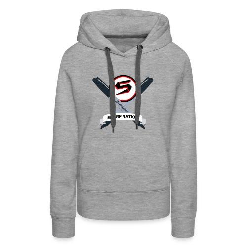 Sharp Nation Shirt - Women's Premium Hoodie