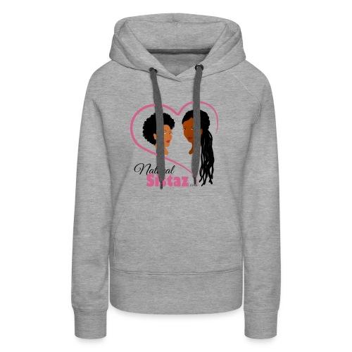 NaturalSistaz.com Logo Gear - Women's Premium Hoodie