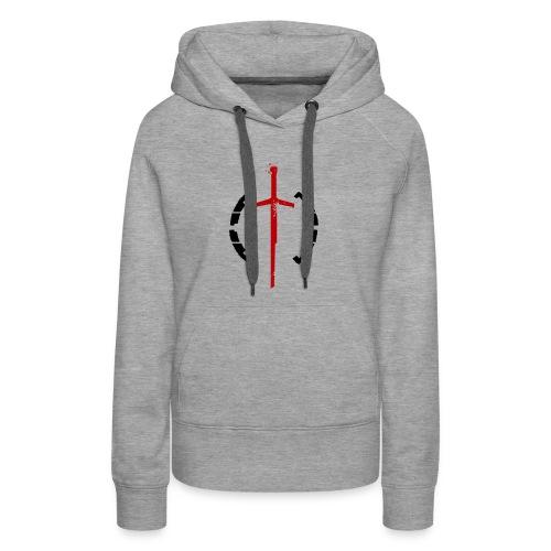 Faction Sword Logo V2 - Women's Premium Hoodie