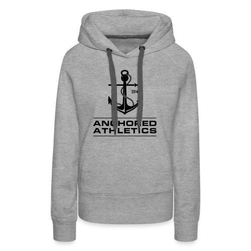 Anchored Athletics Classic Logo - Women's Premium Hoodie