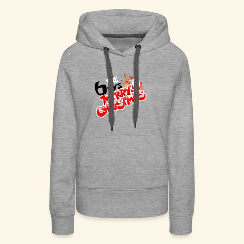 The 6oys Christmas Edition - Women's Premium Hoodie