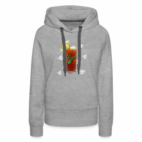 Sweet T Tea-Shirts - Women's Premium Hoodie