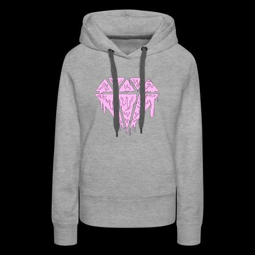 Pink Grime Nobyl Gem - Women's Premium Hoodie