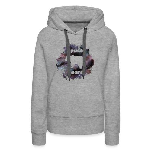 Space Bear Splatter - Women's Premium Hoodie