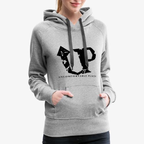 Uncomfortable Places Logo Shirt - Women's Premium Hoodie
