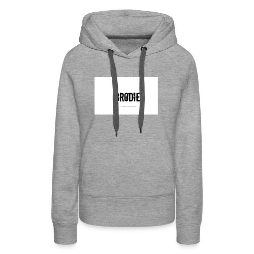 tattoo design name brodie 06 - Women's Premium Hoodie