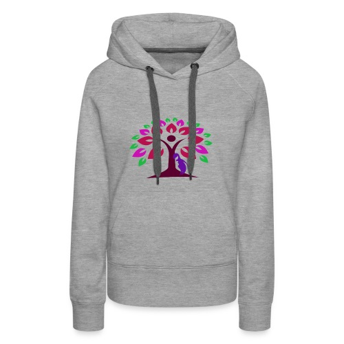 Abstract Nature - Women's Premium Hoodie