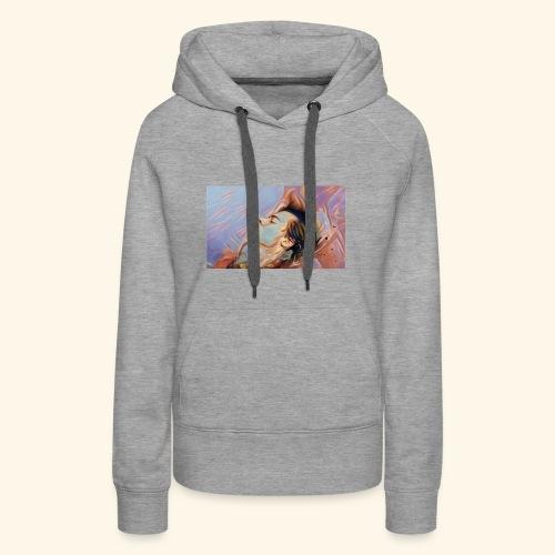 floating painting print - Women's Premium Hoodie