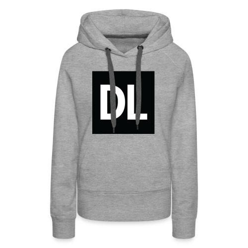 DL shirt - Women's Premium Hoodie