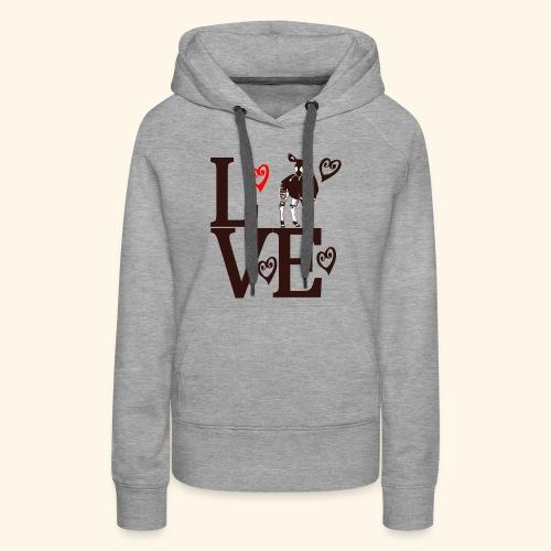 Okapi Love - Women's Premium Hoodie