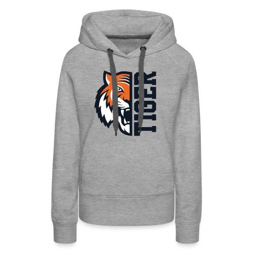 Tiger head - Women's Premium Hoodie