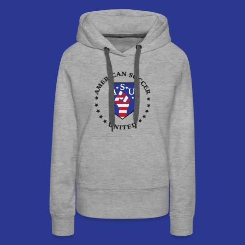 American Soccer United - Women's Premium Hoodie