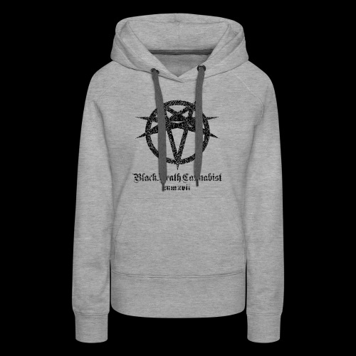 Black Death Cannabis - Logo - Women's Premium Hoodie