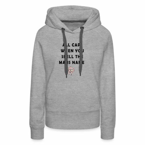 MFDOOM ALL CAPS - Women's Premium Hoodie