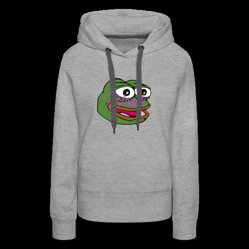 AnonymousBleach (Green Bleach Loving Frog) Shirts - Women's Premium Hoodie