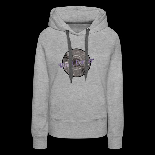 The Vinyl Corner - Deep purple - Women's Premium Hoodie