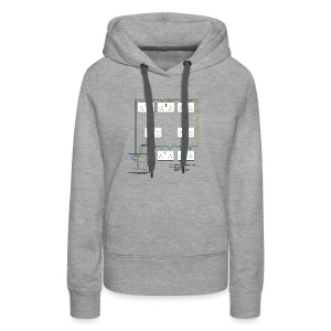 Electrical Circuit - Women's Premium Hoodie