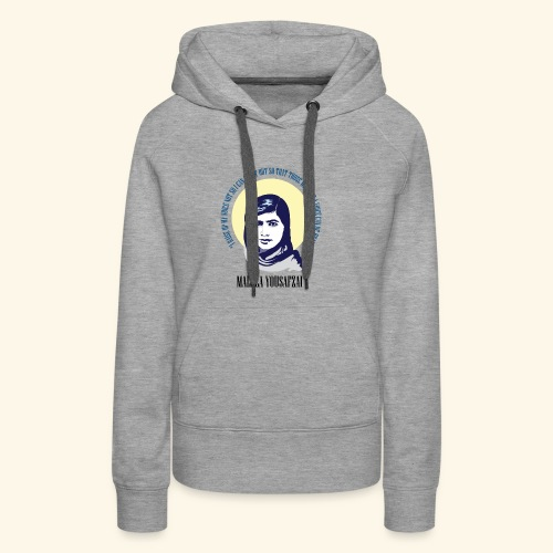 Malala - Those Without a Voice - Women's Premium Hoodie
