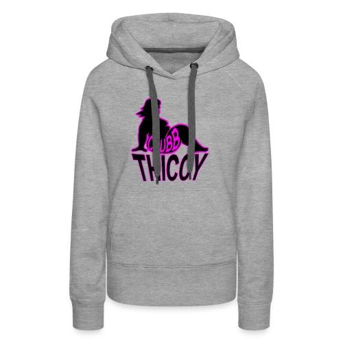 Chubb Thiccy - Women's Premium Hoodie