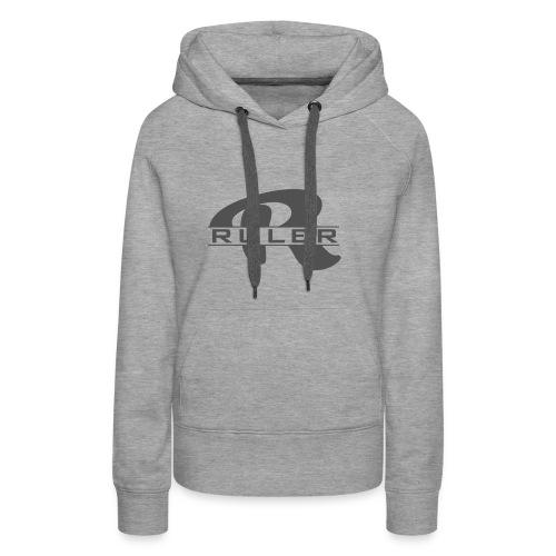 Ruler Logo - Women's Premium Hoodie