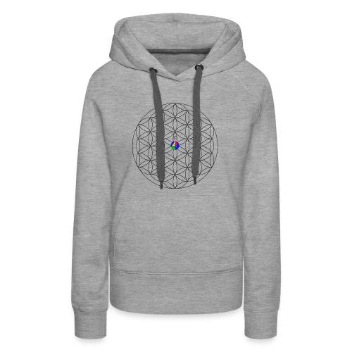 1200px-Flower-of-Life__aop-logo_light - Women's Premium Hoodie