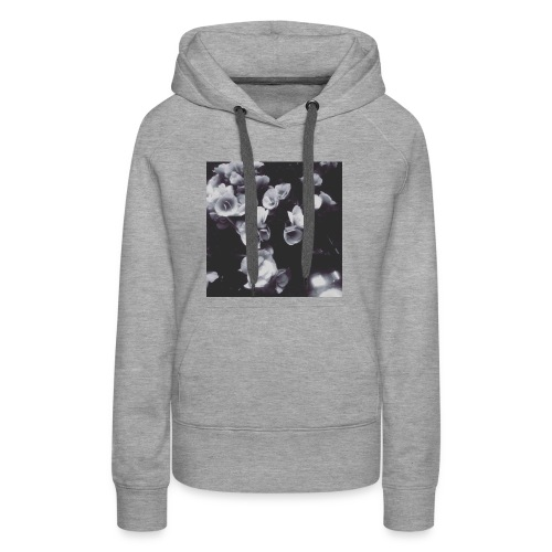 the roses have not been painted red...yet - Women's Premium Hoodie