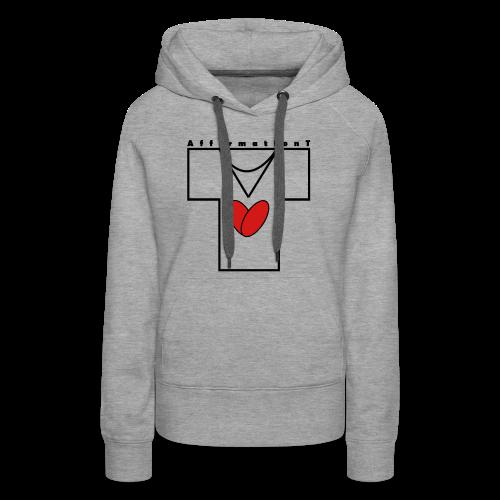 AffirmationT logo - Women's Premium Hoodie